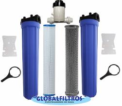 Conjunto Para Tratamento De Água de Poços Cacimbas Nascentes e Cisternas GBF3000CP (Coliformes - Ferro - Escherichia coli)