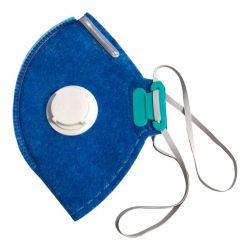 Máscara Respirador Azul Lubeka PFF2 N95 Com  Válvula - 38829